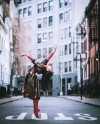 Фотограф вывел профессиональных танцоров на улицу и попросил не стесняться