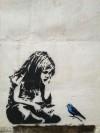 Граффити спасает птиц от смерти